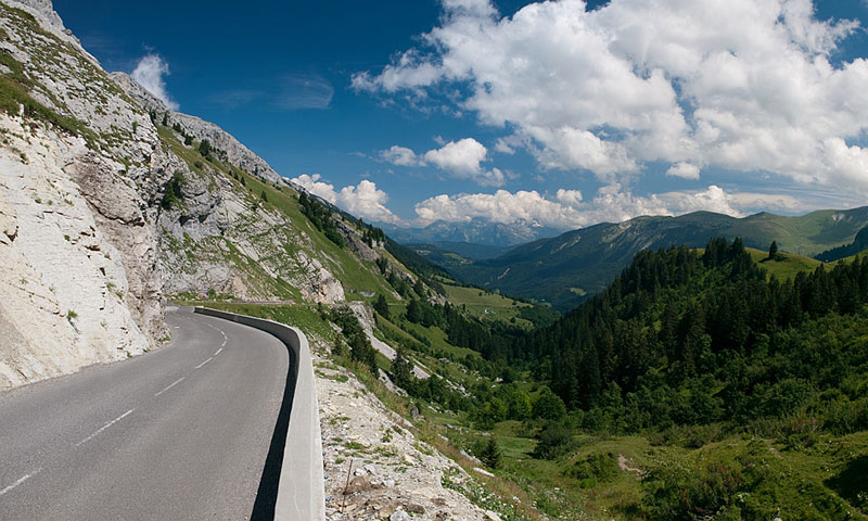 driving the French Alps
