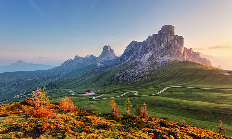 Car Rally Europe, Italy, Dolomites
