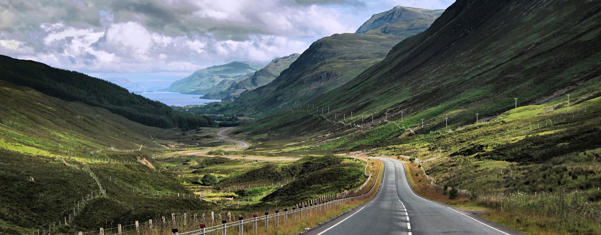 slap driving adventure, Scotland