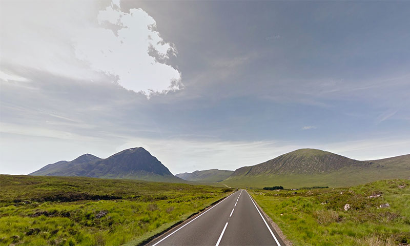 Roadtrip to the Scottish Highlands
