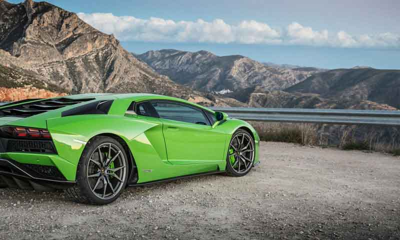 road trip europe with slap adventures, lamborghini aventador
