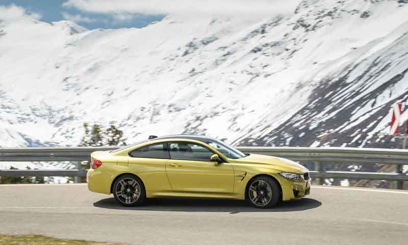 road trip europe with slap adventures, bmw m4