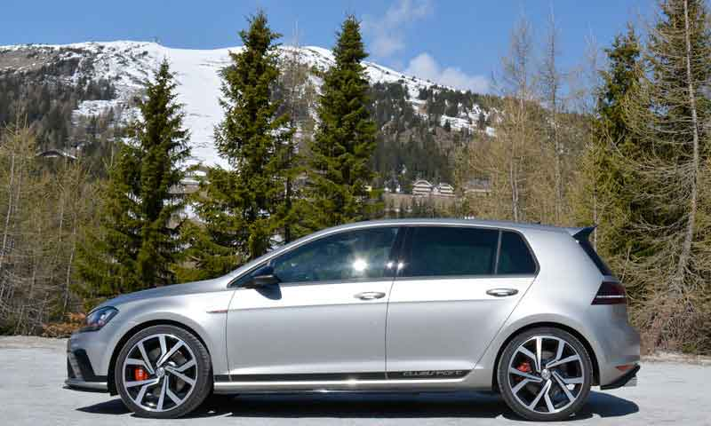 road trip europe with slap adventures, vw golf gti clubsport
