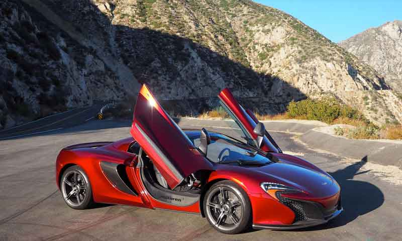 road trip europe with slap adventures, mclaren 650s