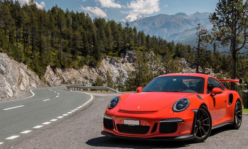 road trip europe with slap adventures, porsche 991 GT3 RS
