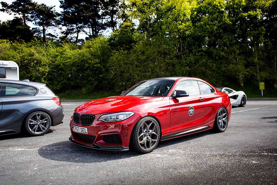 Red BMW 235i - Road Trip to Scotland with Slap Adventures