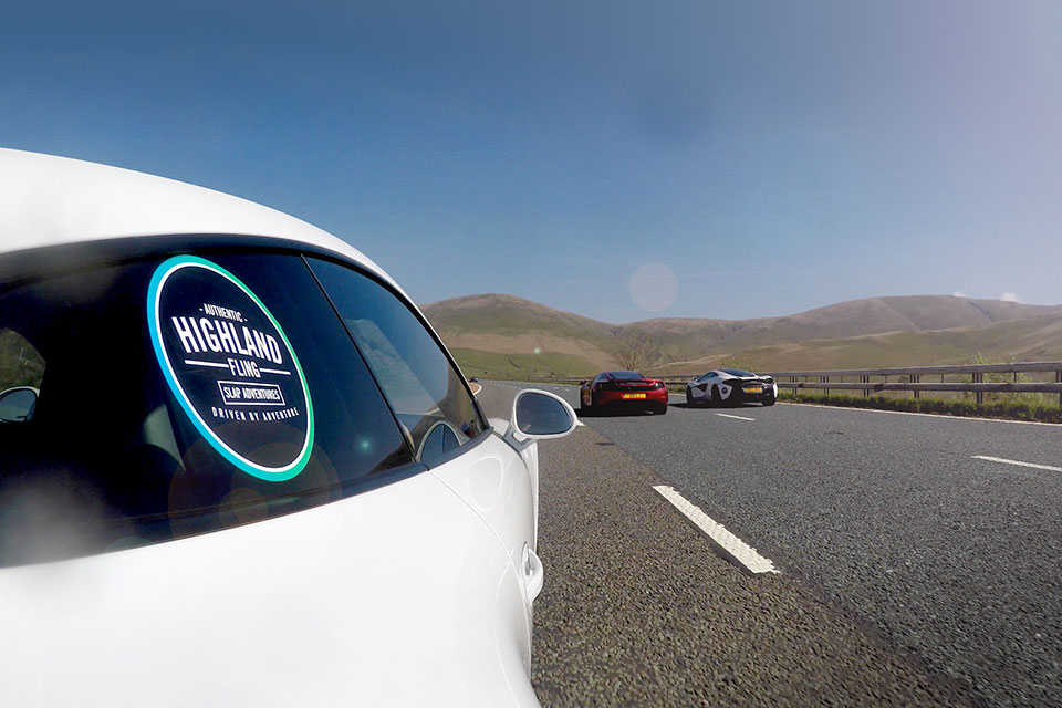 Porsche 991 GT3 Road Trip to Scotland with Slap Adventures