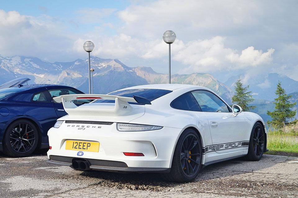 The Reep Group Porsche 991 GT3 on Slap Adventures