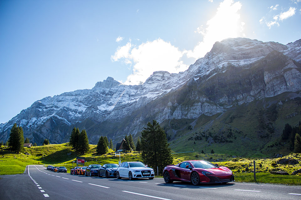 Road Trip to Switzerland - supercar rally europe