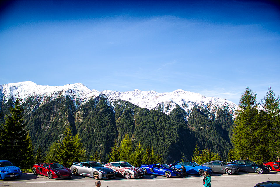 Grossglockner Road Trip - luxury car rally europe
