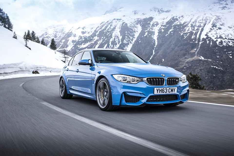 BMW M3 Road Trip Europe