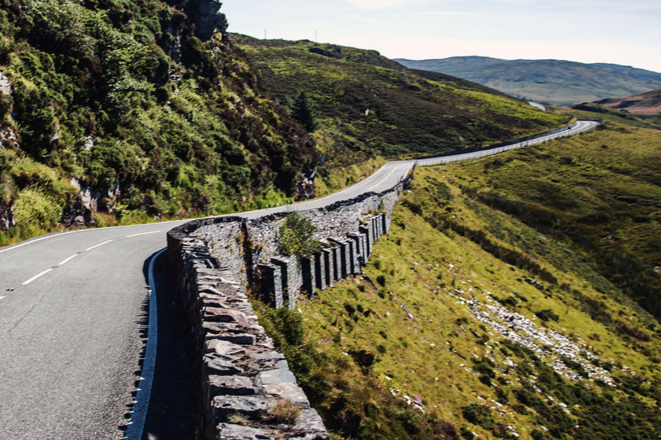 road trip to snowdonia