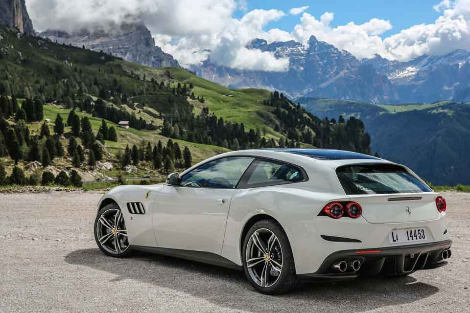 Ferrari GTC4 Lusso Driving Holiday Europe