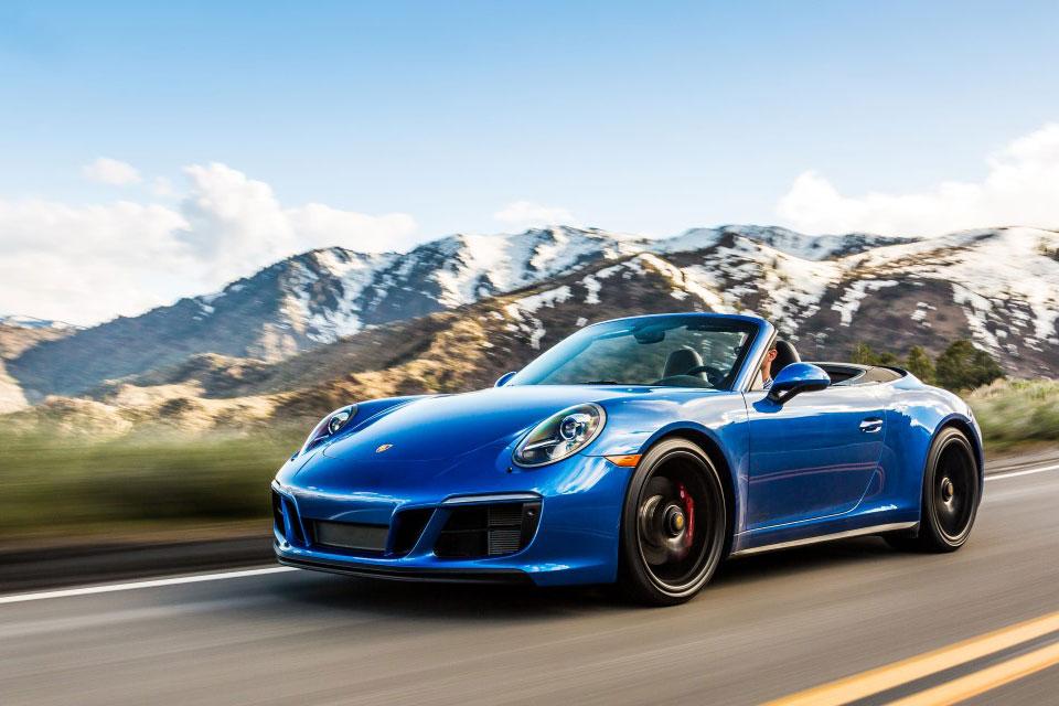 Porsche 911 road trip europe