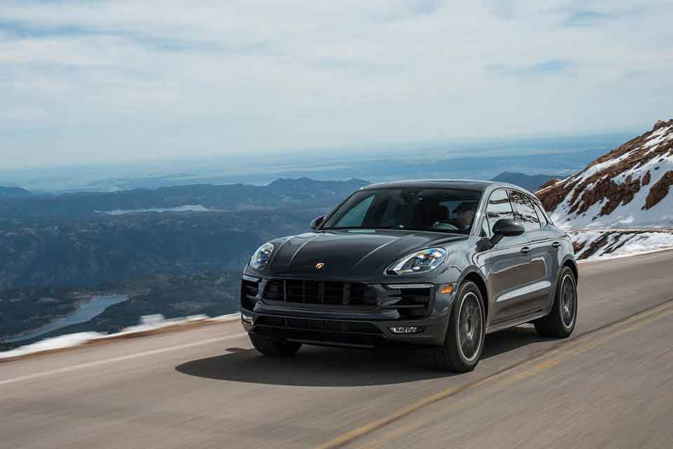 Porsche Macan Road Trip Car