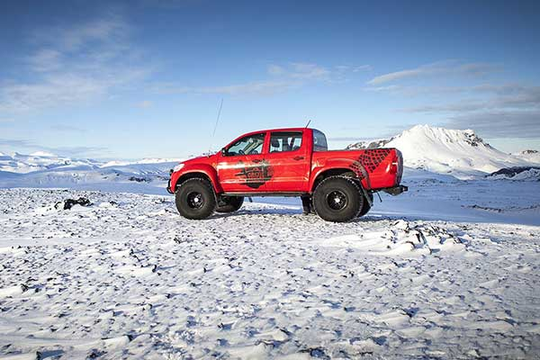 Truck Driving Experience Iceland