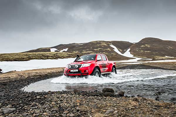 Winter Driving Experience Iceland