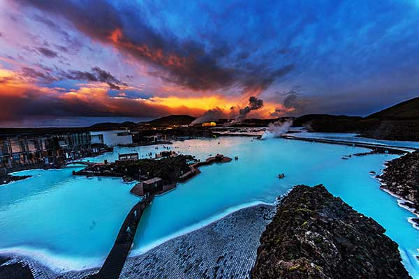 Truck Driving Experience and Winter Holiday at the Blue Lagoon in Iceland