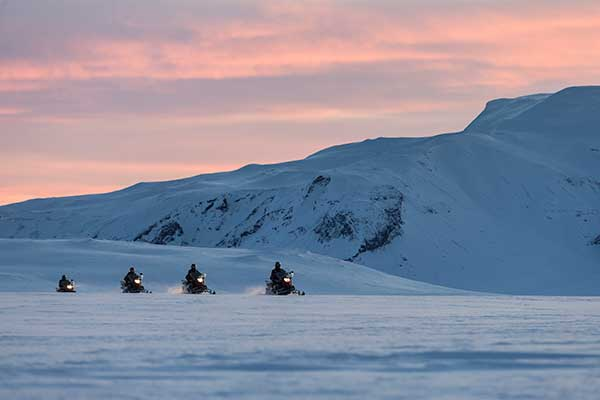 Skidoo Experience and Winter Holiday in Iceland