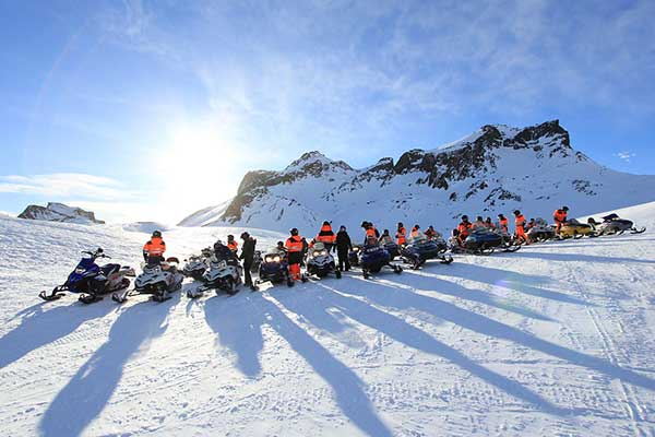 Snowmobile Experience and Winter Holiday in Iceland