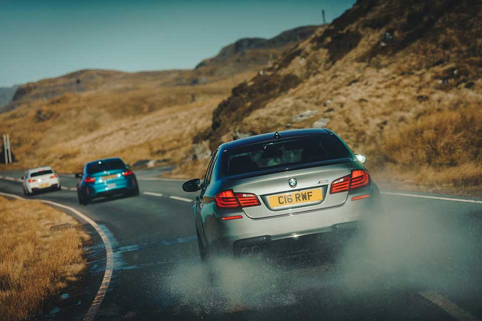 BMW Drive Day, Road Trip Wales, BMW M5