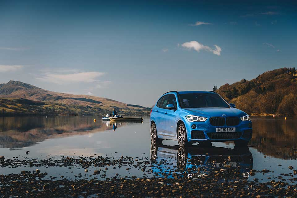 BMW Drive Day, Road Trip Wales, Blue BMW M1, Bala Lake