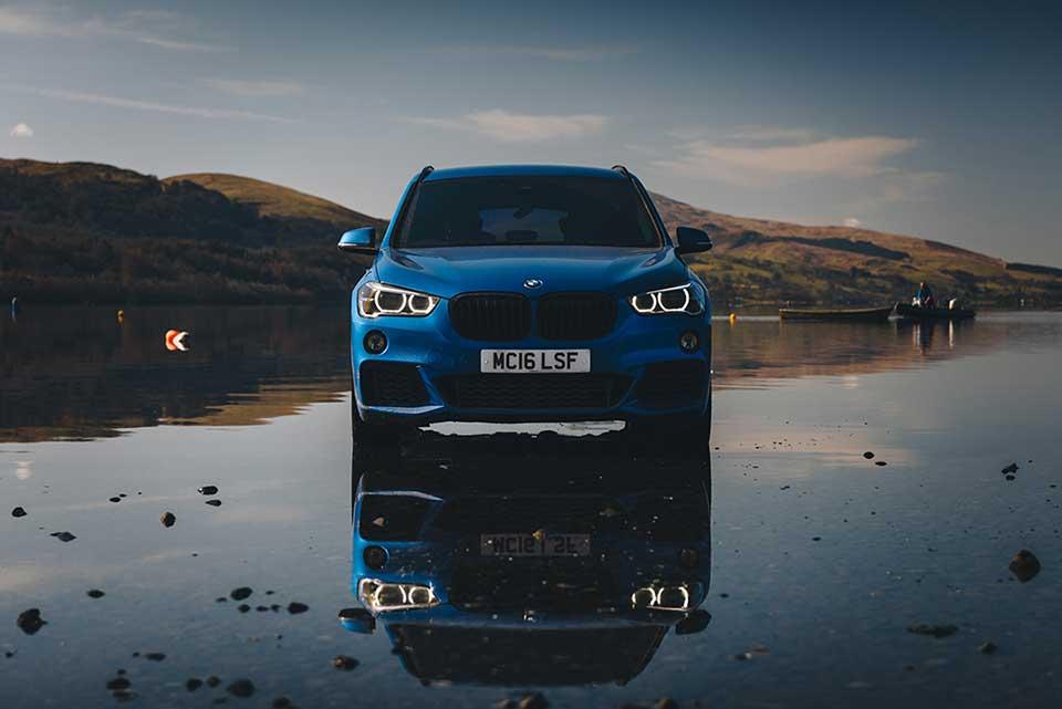 BMW Drive Day, Road Trip Wales, Blue BMW M1, Bala Lake