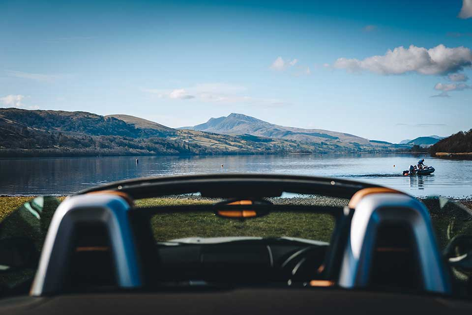 BMW Drive Day, Road Trip Wales, BMW Z4, Bala Lake