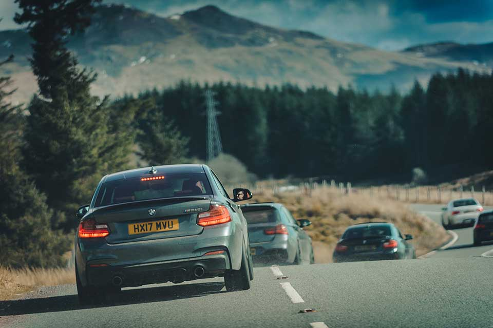 BMW Drive Day, Road Trip Wales, Grey BMW M240i
