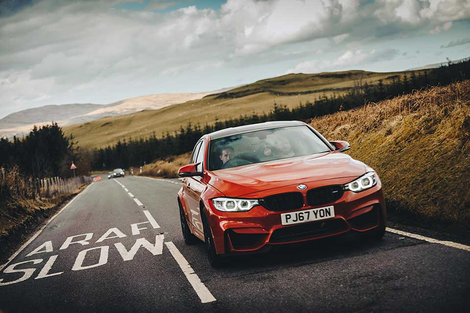 BMW Drive Day, Road Trip Wales, BMW M3