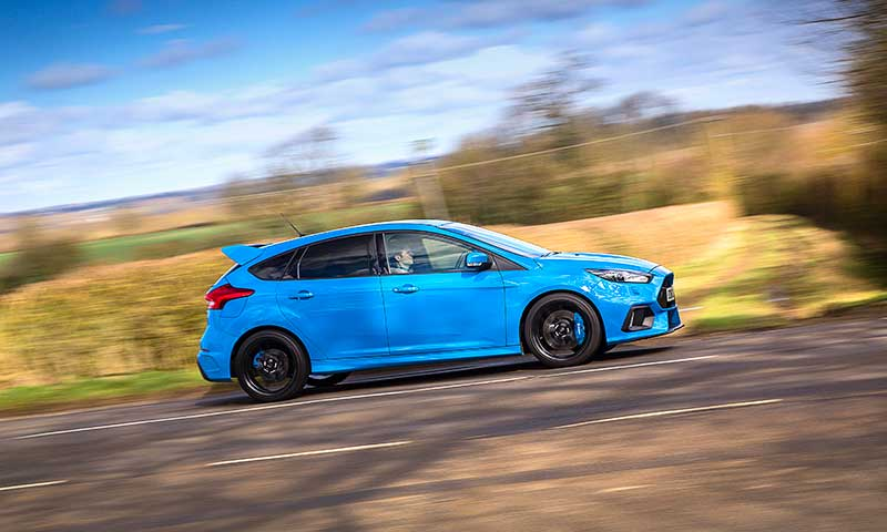 Road Trip to Ireland, Ford Focus RS