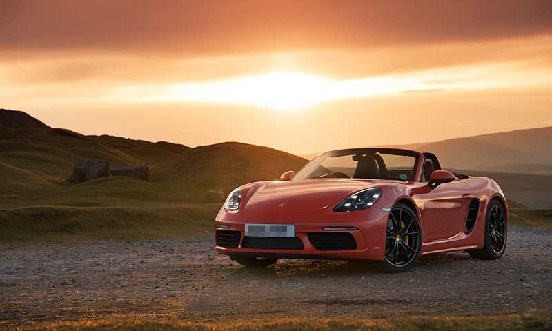 Porsche Boxster S - Luxury Road trip