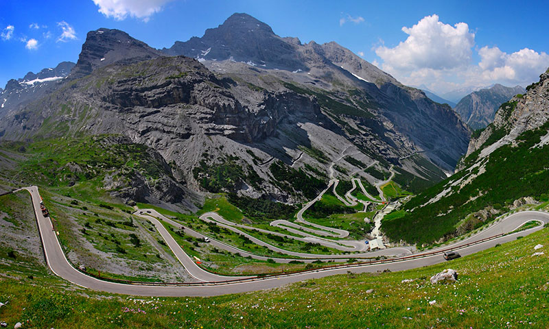 Luxury Driving Holiday, Road Trip, Europe, Stelvio Pass