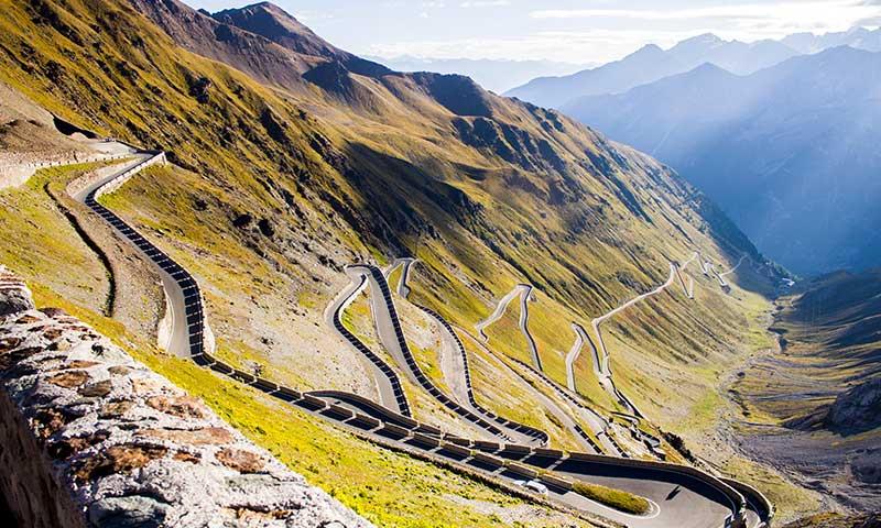 Luxury Driving Holiday, Road Trip, Europe, Stelvio Pass