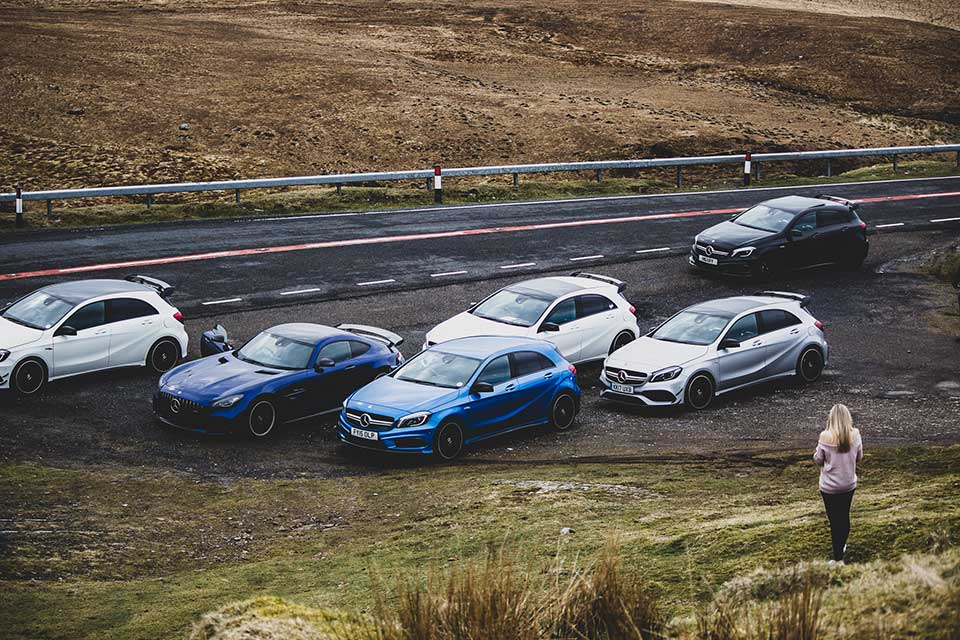 Mercedes AMG Drive Day in Wales