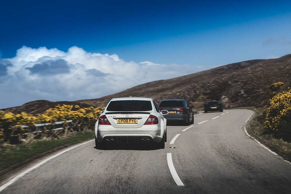 Mercedes CLK Black Series - Driving Holiday Scotland