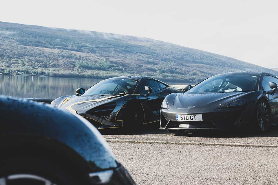 Mclaren 720s, Mclaren 570GT - Driving Holiday Scotland
