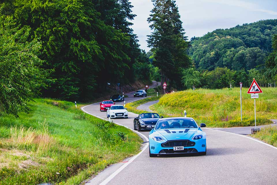 Luxury European Road Rally
