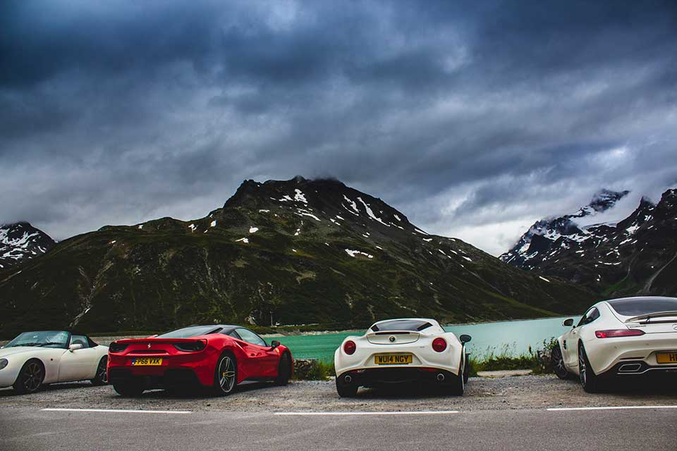 Luxury Driving Holiday Europe - Red Ferrari 488