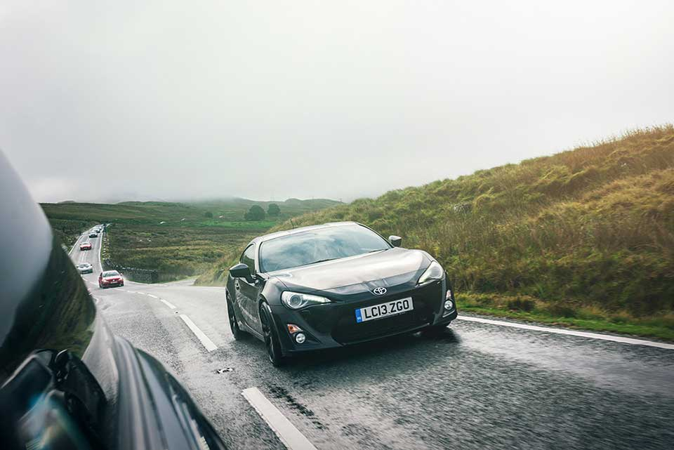 Toyota GT86 North Wales