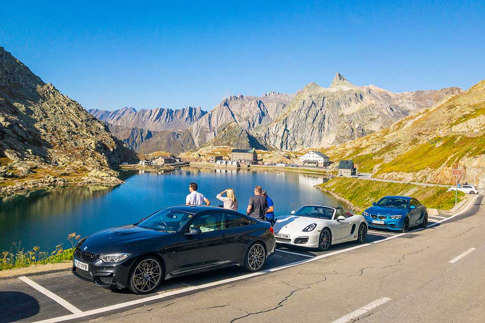 Col du Grand St Bernard - Luxury Driving Holiday Europe