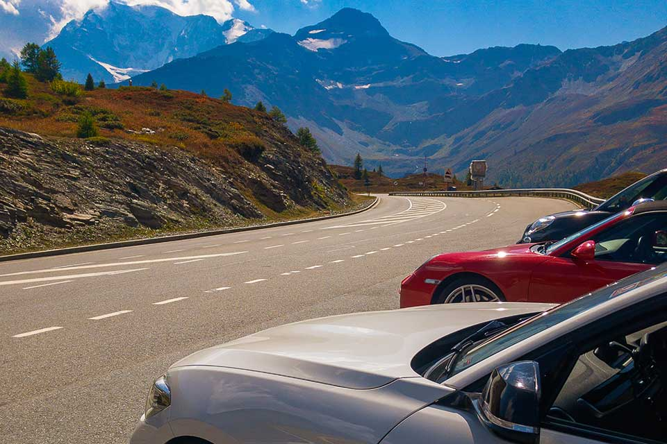 Red Porsche 911 - Luxury Driving Holiday Europe