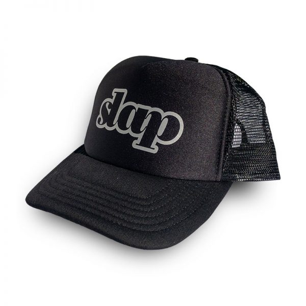 Black Trucker Cap Slap Adventures