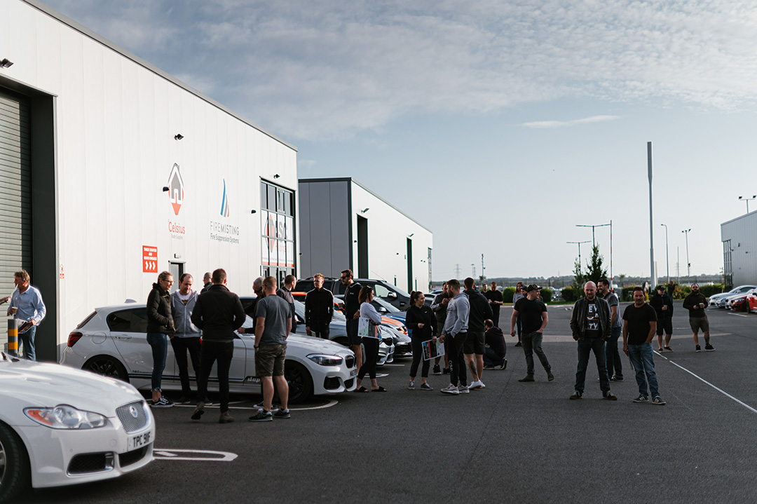 Slap Adventures Drive Day North Wales at RSV Automotive