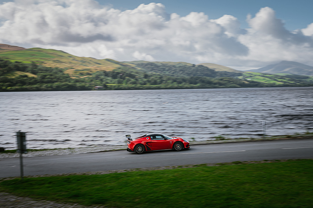 Red Lotus Elise Cup Slap Adventures Drive Day North Wales