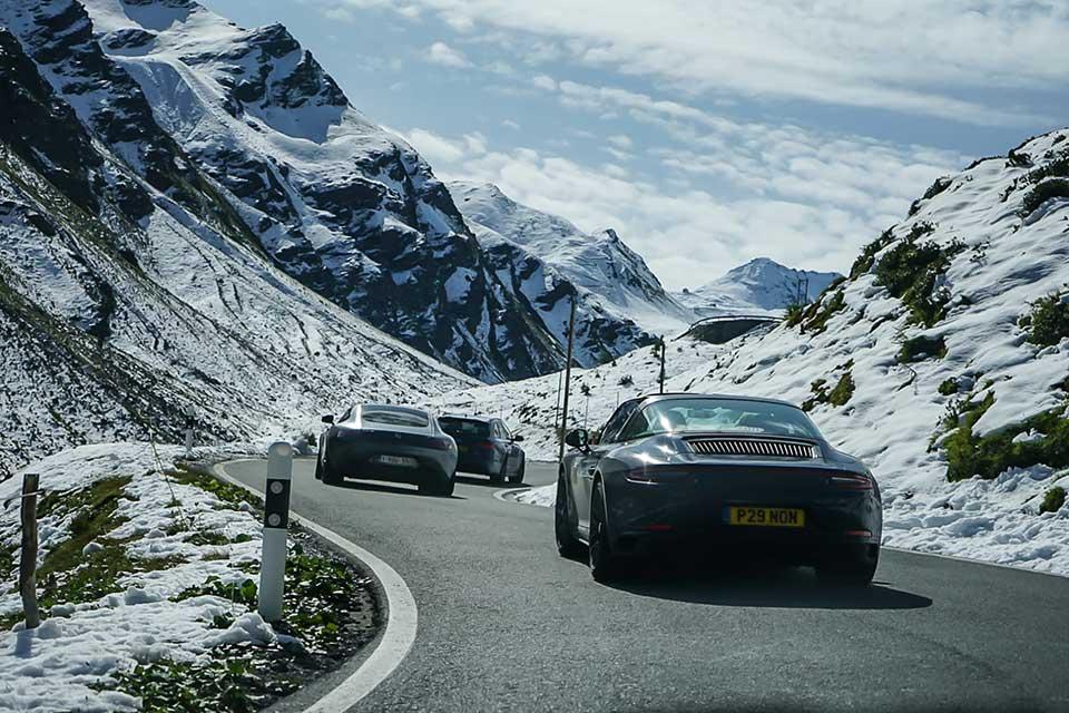 Porsche 911 Targa - Slap Adventures