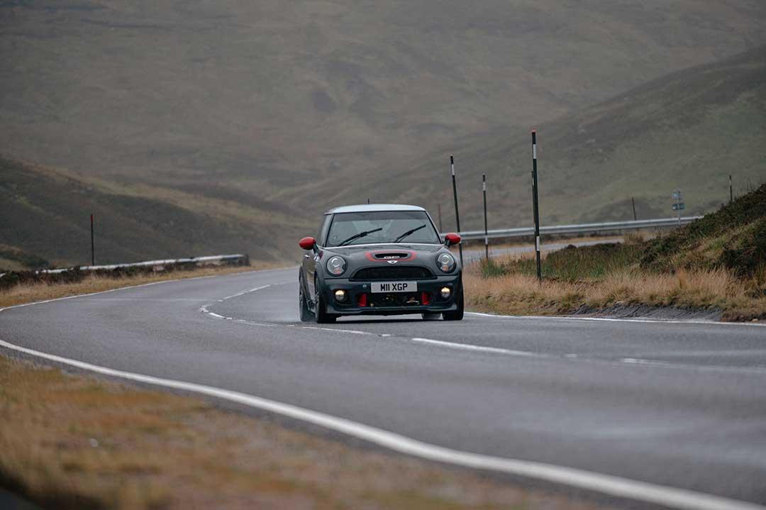 Mini Gooper GP2 - Highland Fling Roadtrip to Scotland with Slap Adventures