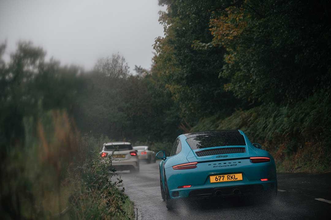 Porsche 991 GTS - Highland Fling Roadtrip to Scotland with Slap Adventures