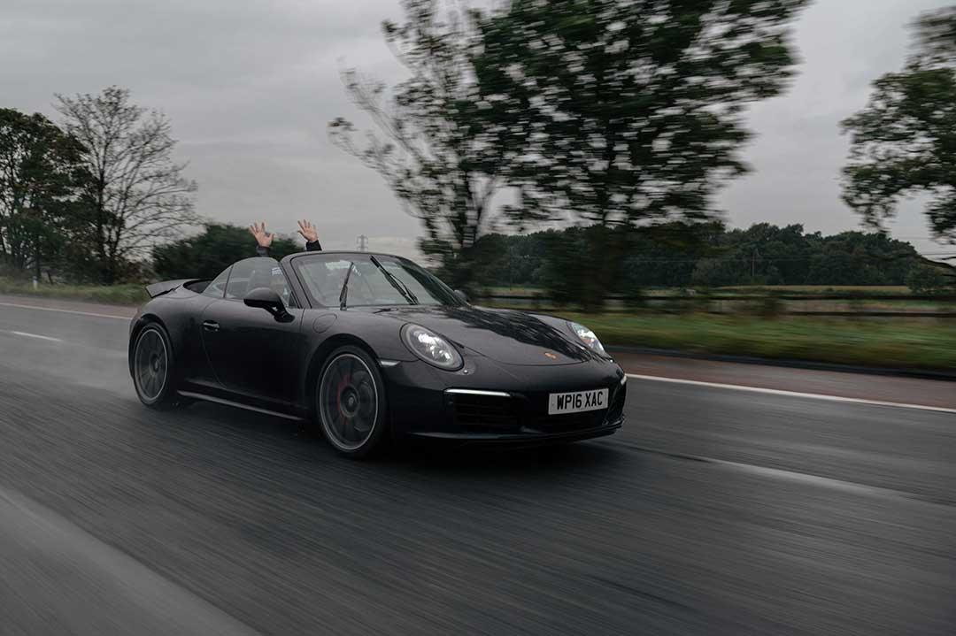 Porsche 911 Carrera 4S - Highland Fling Roadtrip to Scotland with Slap Adventures