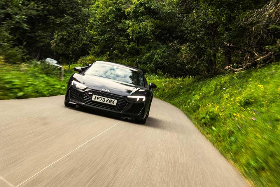 Black Audi R8 2020 Edition